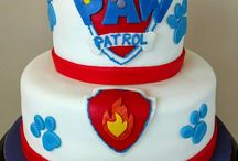 Paw Patrol Party/Cakes