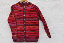 Knitting colour patterns