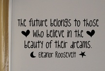 Quotes and Stuff / by Deanna Ramsey-Mootoo