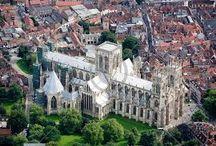 York / Byen York i England, severdigheter og bymiljø