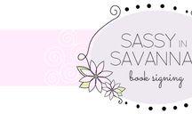 Sassy In Savannah Book Signing!!