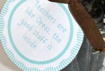 Teacher gift ideas / by Anna Lolley-Ball