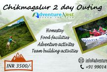 Adventure activities in Chikmagalur / Chikamagalur is a single, sheltered hill surrounded by coffee estates, waterfalls, many stays, many adventure. It is a hotspot for adventure life, wildlife viewing, bird watching & trekking. There are day long rafting trips conducted with kayaking where Bhadra River flows. Chikamagalur revive & rejuvenates everyone because of its serene & peaceful environment.