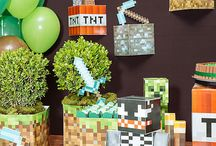 decoração minecraft