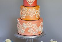 Weddings: Cake  / by Christine Fortich