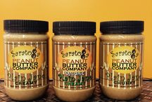 Plain Jane Peanut Butters / All Natural creamy, chunky and organic peanut butter. Just peanuts and a touch of salt!  It doesn't need anything else!  Why mess with perfection?