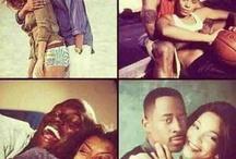 cute black couple