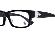 Chrome Hearts THE WORKS FLERKNEE / Unisex classic ophthalmic, Handmade Japanese and Italian zyle frame components are tumble polished for nearly 72 hours to achieve the maximum luster possible from the beautiful color combinations. A .925 sterling silver Chrome Hearts Fleecer decor accents the temple hinge connection. / by Vision Specialists Corp