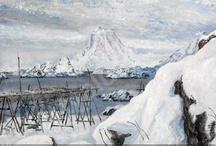 Art:Skandinavisk kunst/Scandinavian art / by Aud Hop