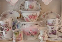 Tea Cups and Saucers / by Lisa Flader