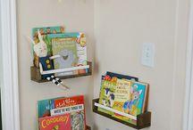 ideas para la biblioteca o zona de lecturas