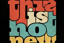 Typography / by Rebecca Harris