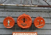 xJunkersUnite / FALL / Is it a pumpkin or a chunk of rust? Maybe both! Fall just goes better with salvaged architecture. And here's proof... Note: this board is not accepting new pinners.