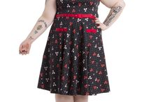 Rock those curves! / Love your vintage inspired fashion but long for more size choice? Then check out our plus size range!
