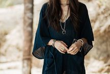 Boho Alter Ego / my kind of hippie/boho style: a lot of neutrals, black, and white