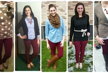 What I Wore / Here are outfits that I've worn and featured on my blog, http://wearablefunfashion.blogspot.com  I'd love for you to check it out :)