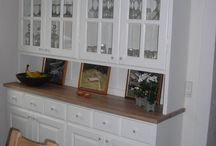 Kitchen Pine Dressers / Dressers, chests of drawers or china hutches - whatever you like to call them. we make it just for you