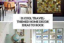 travel - Home decor ideas