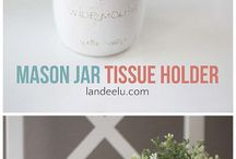 Tissues (Mason Jar Container)