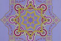 Shanty mandala / acrylique 40X40