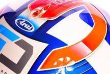 Custom Helmet Design / A collection of awesome racing helmet designs