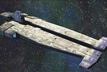 Wing commander & battlestar galactica & babylone 5 & autre SciFy