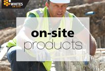 Whites On-site / Whites On-site products