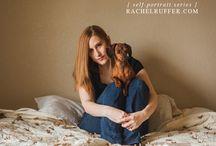 Rachel Ruffer | Self-Portraits