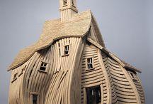 Carved Buildings