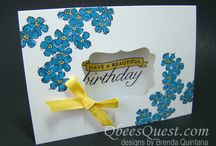 A Birthday Blossoms SU / by Beverley Berthold