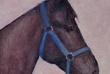 Equine Paintings by Dagmara Zareba