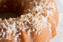 Coconut bunt cake