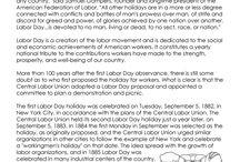Summer Holidays - Labor Day