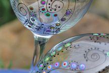 üvegfestés
