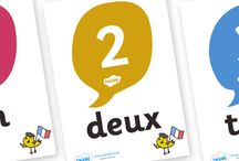 Les Numéros / Numbers / Resources for teaching and learning French numbers.