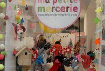 Le Pop Up store Ma petite mercerie / La boutique éphémère de Ma Petite Mercerie était ouverte sur Paris pour 15 jours. Ateliers, échanges, vente et conseils ont animés ces 15 jours de folie!