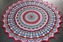crochet gulvtæppe