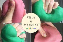 maternelle pâte à modeler