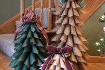 Paper Cone Tree