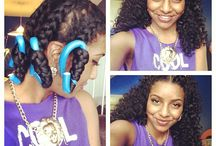 Natural Hairstyles / by Kourtney Raven
