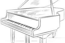zongora rajza