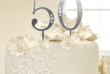 50th Anniversary Gift Ideas / Lots of 50th anniversary gift ideas for your parents, husband and wife. On all the lists fifty years is celebrated with gold which is great for him and her. Plus we have Golden anniversary party ideas including invitations, decorations, surprises and more