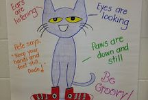Pete the cat (I love my white shoes) / perfect to learn the colours