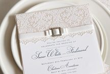 Wedding Invitation Inspiration / Have a look at some of these fabulous ideas for your wedding invitations.