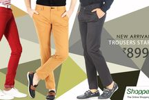 New Arrivals! / This festive season, get some really great looking trousers for great prices! Buy Basics !