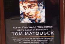 Publicity / Events featuring Tom Matousek's art