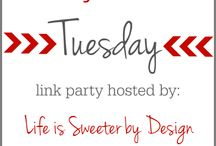 Link Up Parties / Link Ups!! Join in ALL this A-mazing weekly link ups!