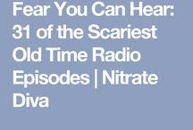 Spooky vintage radio stories