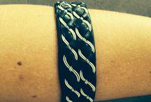 Mina alster / Tenntrådsarmband, Tin Wire bracelets, Sami bracelets, Wire wraping, Ståltråd, ringar.