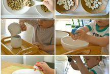 Montessori ideas to try with Radu